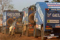 Les camions Gauloises de Rooy