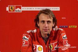 Conferencia de prensa: Luca Badoer
