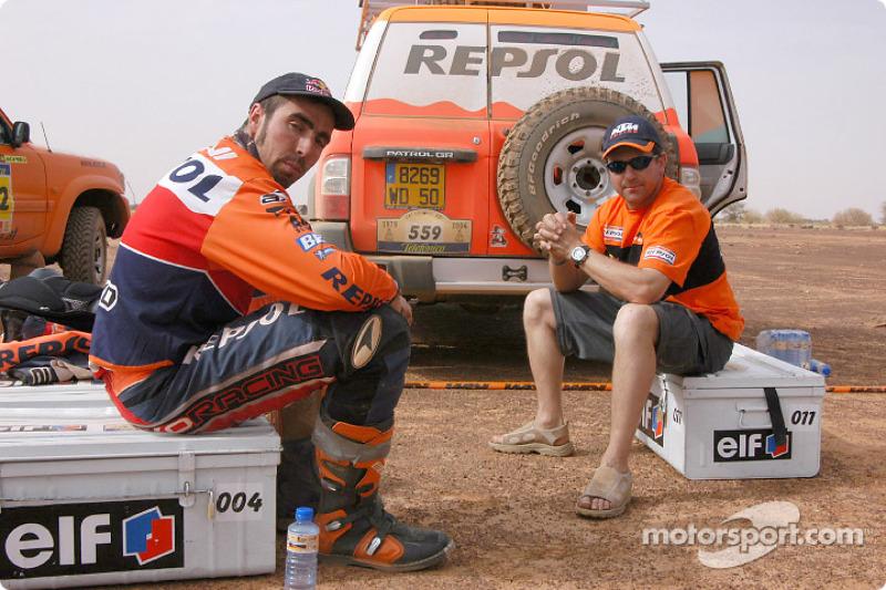 Nani Roma and Jordi Arcarons