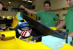 Bas Leinders has a seat fitting Jordan-Ford