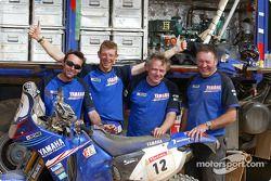 David Frétigné et son équipe