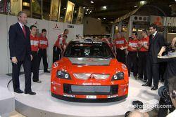 La Mitsubishi Lancer WRC04 est dévoilée