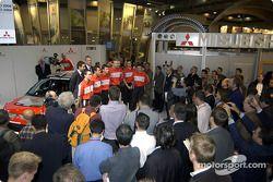 Mitsubishi WRC 04 drivers line-up