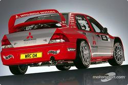 Studio shoot of the new Mitsubishi Lancer WRC04
