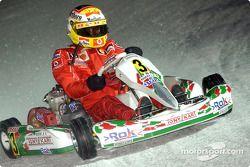 Course de kart : Luca Badoer