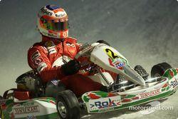 Kart race: Rubens Barrichello