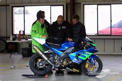 Le garage Kawasaki