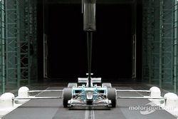 Windtunnel - Inside test section