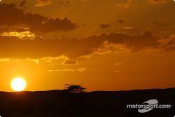 Un coucher de soleil spectaculaire