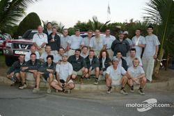 Photo de famille pour Nissan Motorsports