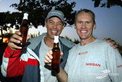 Moments de détente chez Nissan Motorsports