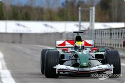 Mark Webber test ediyoryeni Jaguar R5