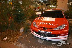 Le stand du World Rally Championship à l'Autosport International