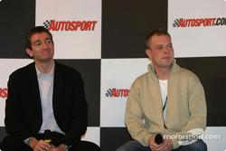 Oliver Gavin and Jan Magnussen interview on Autosport Stage