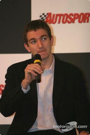 Interview d'Oliver Gavin sur la scène Autosport