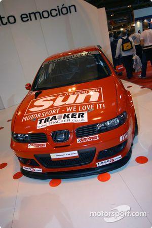 SEAT stand at Autosport International