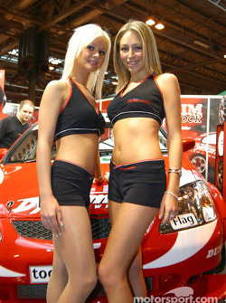 Team Dynamics stand at Autosport International