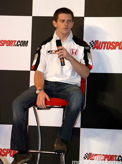 Anthony Davidson interview on Autosport Stage