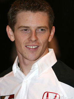 Anthony Davidson at Autosport International