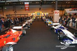 F1 Racing grid at Autosport International