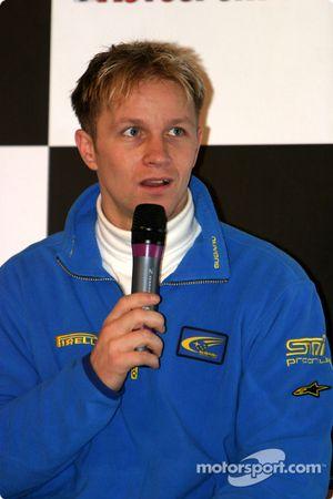 Interview de Petter Solberg sur la scène Autosport