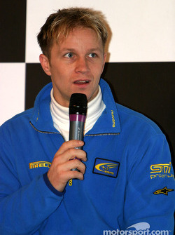 Petter Solberg interview on Autosport Stage