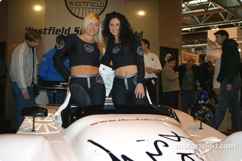 Westfield stand at Autosport International