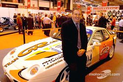 Peter Morris poses with his Porsche 968 Club Sport