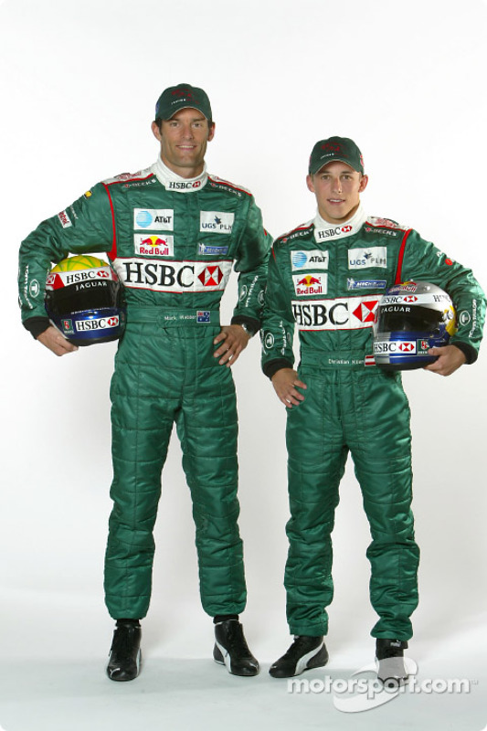Mark Webber y Christian Klien