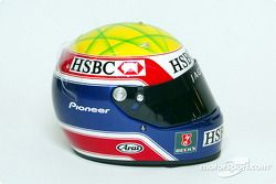 El casco de Mark Webber