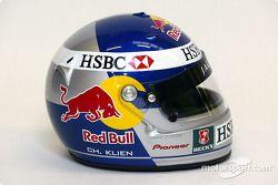 Christian Klien's helmet