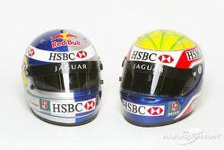 Mark Webber and Christian Klien's helmet