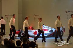 Panasonic Toyota Racing unveils the Toyota TF104