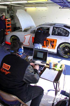 Le garage du Phoenix Racing
