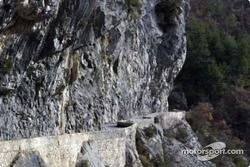 La spéciale Sigale - Col de Bleine passe par les célèbres Clues d'Aiglun