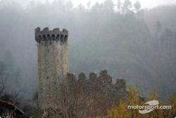 L'ancien château de la ville de Lucéram