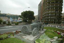Le virage de Ste-Dévote sur le circuit du Grand Prix de Monaco