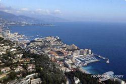 Vue aérienne de Monte-Carlo