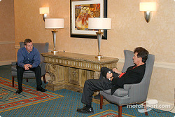 Darrell Russell and Joe Amato get comfortable in a long discussion