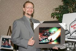 Todd Dziadosz colorful photo entry of Ron Capps won best in show