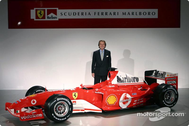 Luca di Montezemelo ve yeni Ferrari F2004