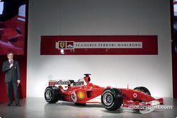 Paolo Martinelli talks about the new Ferrari F2004 engine