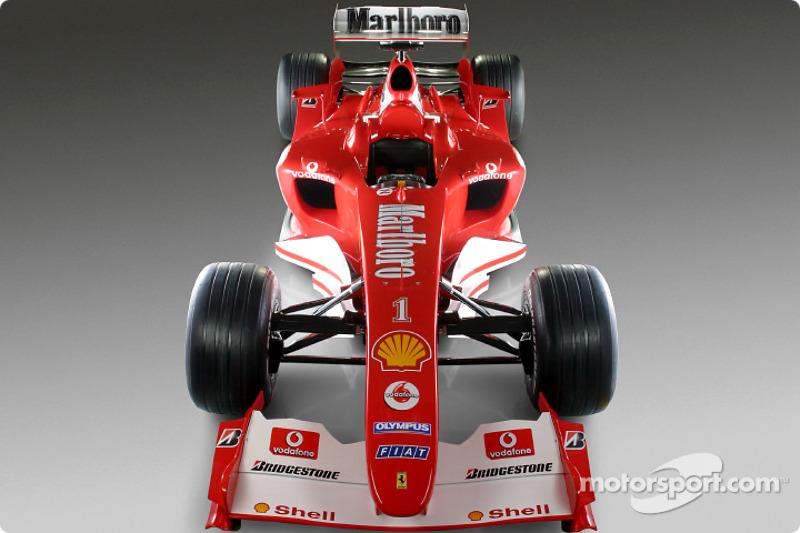 yeni Ferrari F2004
