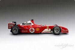 The new Ferrari F2004