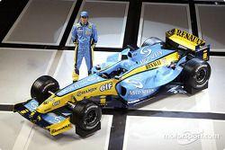 Test Pilotu Franck Montagny ve yeni Renault R24