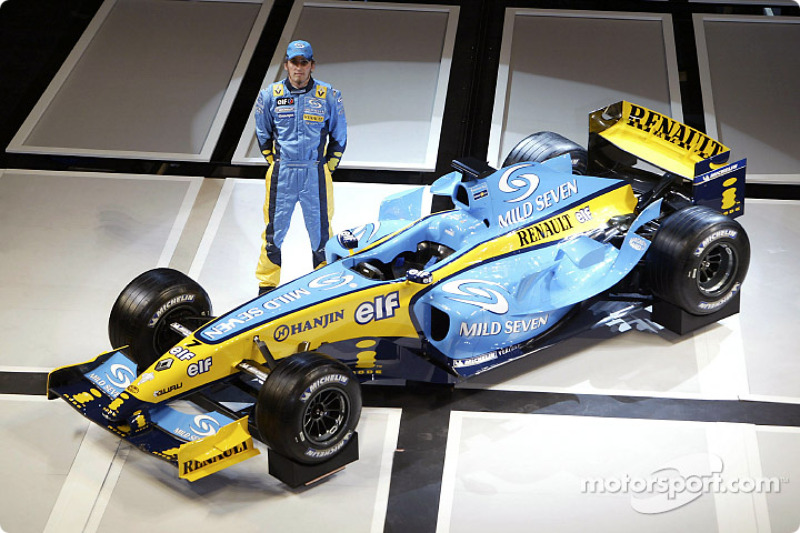 Франк Монтани, Renault, 2004 год