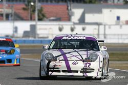 La Porsche GT3 Cup n°82 du dds Racing (Jim Brillhart, Terry Heath, Jack Henricks, Steve Lynn)