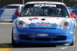La Porsche GT3 Cup n°14 du Autometrics Motorsports (Cory Friedman, Bransen Patch, Lynn Wilson, Adam