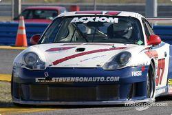 La Porsche GT3 RS n°57 du Stevenson Motorsports (John Stevenson, John Buttermore, Piers Masarati)