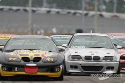 #11 Powell Motorsport Firebird: Devon Powell, John Heinricy, and #92 Anchor Racing BMW M3: John Munson, James Sofronas, Scott Galaba